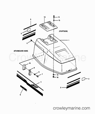 Evinrude Wiring Schematics additionally 5714 besides 5647 additionally 3 0 Mercruiser Engine Parts Diagram together with 6546. on omc exhaust diagram