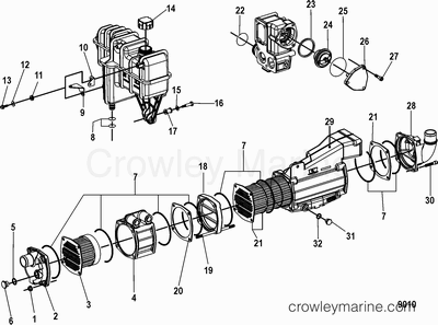11580 further 6oxls 2000 5 7 Gl Volvo Penta Engine Duo Prop Sterndrive besides 11580 besides Fresh Water Cooling Pump additionally Search. on 170 mercruiser water pump diagram