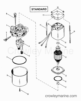 Mercury Power Trim Wiring Diagram in addition Wiring Diagram Starcraft Boat together with Mercury Outboard Tachometer Wiring Diagram also Volvo Penta Boat Engine Diagram together with ponent parts drawings. on quicksilver ignition switch wiring diagram