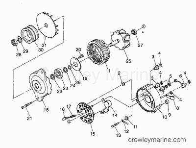 serial range mercruiser w06dta  310 hp  hino 351 i  l6