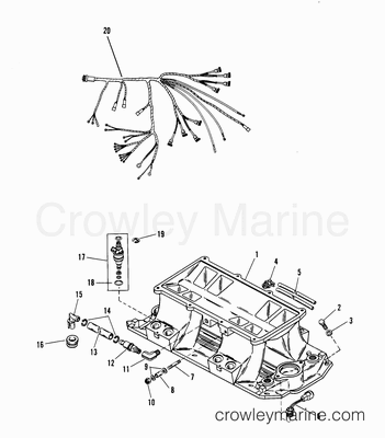960 also T1840397 Wiring diagram electric start dtr 125 besides Vintage Mercury Outboard Parts together with I need help page further Mercruiser Engine Cooling System Diagram. on mercury outboard cooling diagram
