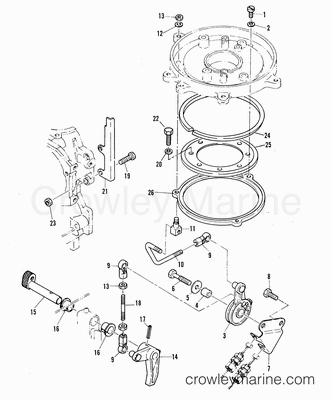 Quicksilver Throttle Wiring Diagram further Yamaha Mand Link Gauge Wiring Diagram further Remote Control Asy 87317a10 also 2000 Ford Expedition Parts Diagram moreover mander 3000 Classic 827270a21 A31. on mercury quicksilver throttle control diagram