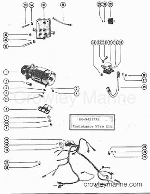 mercruiser distributor coil wiring diagram  diagram  auto