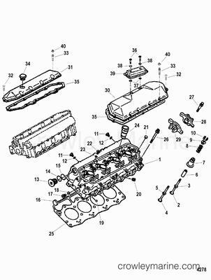 1997 mercruiser 7 3l  d-tronic   473b116kd