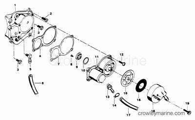 Mercury Power Tilt Unit Diagram