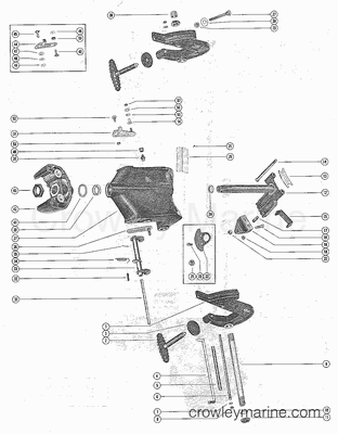 115 Mercury Outboard Serial Number Location together with Yamaha 350 Outboard Motor further 3 Cylinder Perkins Engine Diagram as well Mercury Outboard Powerhead together with Yamaha Engine Serial Number Identification. on mercury outboard serial number location