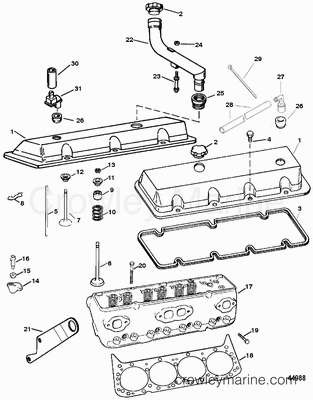 Inboard Outboard Fuel System