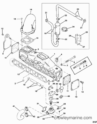 mercruiser cooling system alpha 3 0 with 2330 on 7801 together with New 4 3 Mercruiser Engine furthermore 4 3 Mercruiser Engine Wiring Diagram together with Mercruiser Shift Interrupter Switch Wiring Diagram besides 2330.