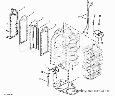 1985 Sea Ray Wiring Schematic
