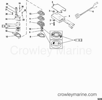 1999 mercury outboard 150  xl   1150462vd