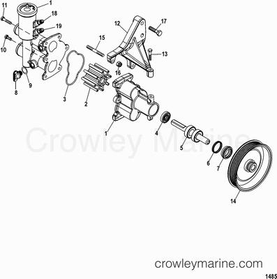 Mercruiser 4 3l Engine Diagram