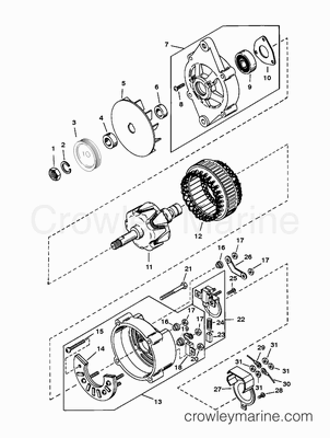 Mercruiser Ignition Wiring Diagram Mastertech Marine Chrysler Force