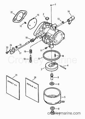 1995 force outboard 40 h040412rd parts lookup for Force outboard motor parts diagram