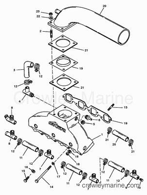 3 0 Mercruiser Engine Wiring Diagram likewise Mercruiser Engine Mounts furthermore 350 Small Block Fuel Filter additionally Driveshaft And Tailstock Driveline together with 454 Mercruiser Engine Carburetor. on mercruiser 4 3 efi engine diagram