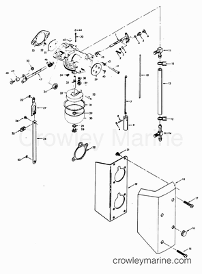Ril Ezbv on Pin Evinrude Johnson Outboard Motor Cover Diagram And Parts On