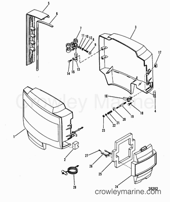 Chrysler 3 V6 Engine Diagram also 491 as well Vapor Gauge Wiring Diagram together with Ford 8n Headlight Wiring likewise 453. on mercury outboard ignition coil