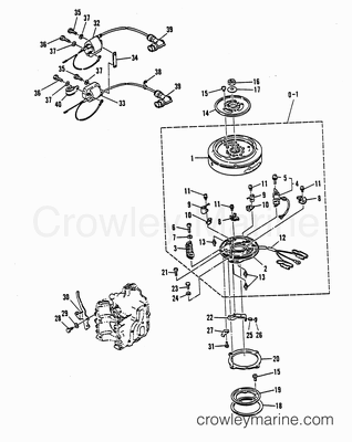 1987 Co Omc Wiring Diagram furthermore Pump Shaft Seal Diagram further E Drive Electric Outboard further ponent parts drawings together with 15 Hp Boat Motor. on wiring diagram mercury 25hp outboard