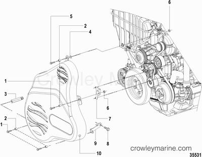 Marine Engine Actuator