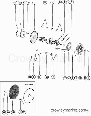 Mercruiser Charging System Alternators Voltage Regulators And Parts besides Ignition Wiring Diagram 1986 Honda Atv 200 in addition Cushman Truckster Wiring Diagram as well 1604 moreover 11867. on omc alternator wiring diagram