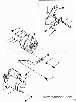 Mercury Optimax Cooling System Diagram further 1604 together with 1599 as well Mercruiser Carburetor Parts Diagram furthermore Mercruiser 4 3l V6 Exhaust Manifolds 2. on mercruiser 4 3 engine manifold