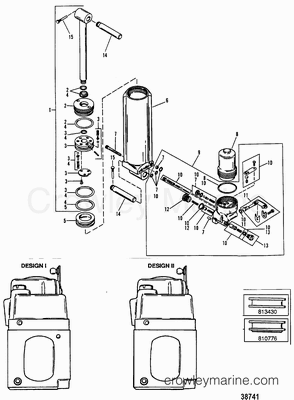 334 on eaton power steering pump diagram
