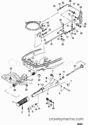 50 Hp Mercury Outboard Trim Diagram