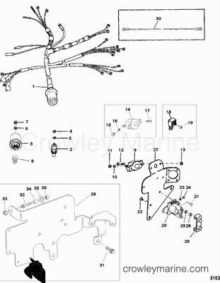 Ford Bronco 1995 Ford Bronco Ecm Unit furthermore T14483215 Need diagram 5 7 engine shows cam timing furthermore Exhaust Mercruiser Water Flow Diagram Quot in addition 2330 further 95 Chevy 454 Wiring Diagram. on mercruiser 3 0 lx wiring diagram