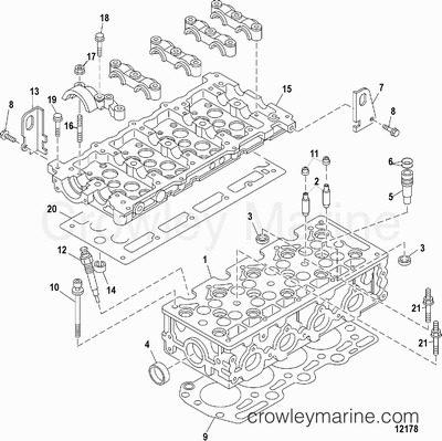 serial range mercruiser d1 7l dti  0m055000 thru 0m999999