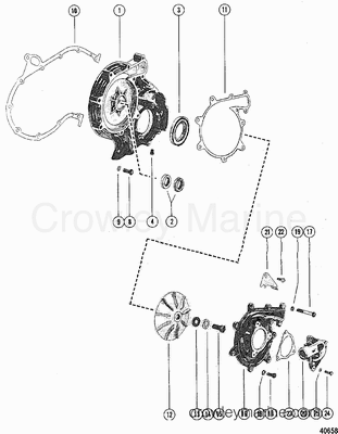 454 Engine Parts Diagram likewise Mercury Thunderbolt Wiring Diagram in addition Mercruiser 5 7 Water Diagram moreover Mercruiser 470 Heat Exchanger Diagram in addition Omc Engine Manual. on 454 mercruiser wiring diagram