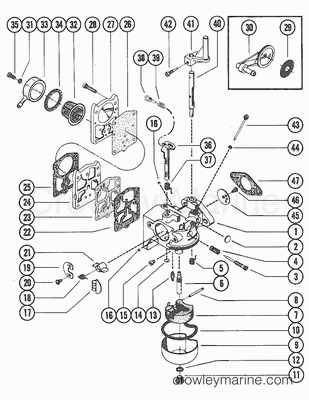 Ignition Coil Stator And Switch Boxgroup No 14 Diagram And Parts