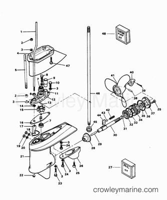 Omc 165 Starter Wiring Diagram