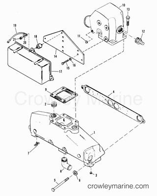 1988 mercruiser race sterndrive 320efi  alpha   4320100ah