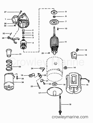 wiring diagram for mercruiser alternator with 2049 on Omc Co Wiring Harness additionally Marine Engine Rear Main Seal together with 1599 in addition 2049 moreover Omc help page.