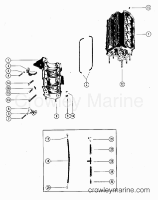 Hydraulic Cylinder Repair Kits Diagram
