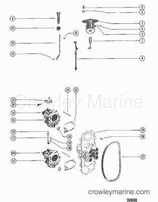 1983 mercury outboard 80  el    1080523