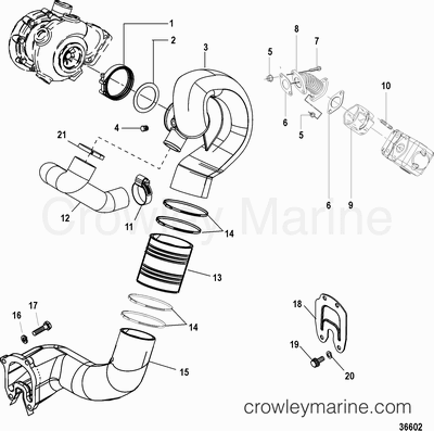 Air Actuator In Marine Engine Cooling System