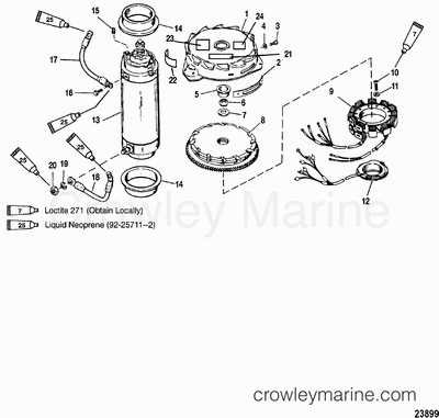 25 evinrude ignition wiring diagram omc ignition switch