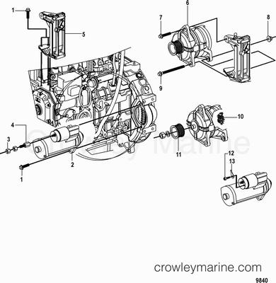 Heat Exchanger Marine Engine Cooling System