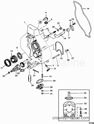 mercruiser gimbal housing diagram with 1942 on Mercruiser Gimbal Bearing Diagram together with Boat Trim Tabs Wiring Diagram besides 1602 further Cummins 8 3 Engine Diagram as well 611054 Understanding The Mounting Of The Gimbal Bearing Installer Onto The Alignment Tool.