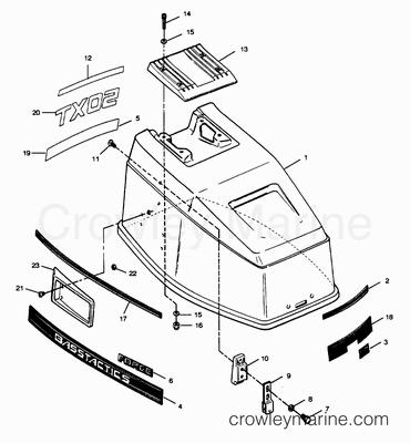 ENGINE COVER CAJUN MODELS