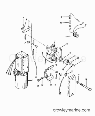 57 Chevy Steering Column Diagram also Jeep Cj7 Carburetor Diagram besides Warn Winch Electrical Diagram in addition Omc Switch Diagram further Yamaha Outboard Gauge Wiring Diagram. on tilt and trim switch wiring diagram