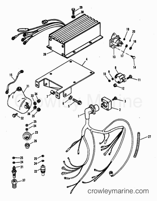 Mercruiser Engine Wiring Harness Tbi further ponent parts drawings besides Volvo Penta Sx Drive Schematic as well Yamaha Power Trim Wiring Diagram additionally Chevy Engine Diagrams 454. on for a 1989 mercruiser wiring diagrams