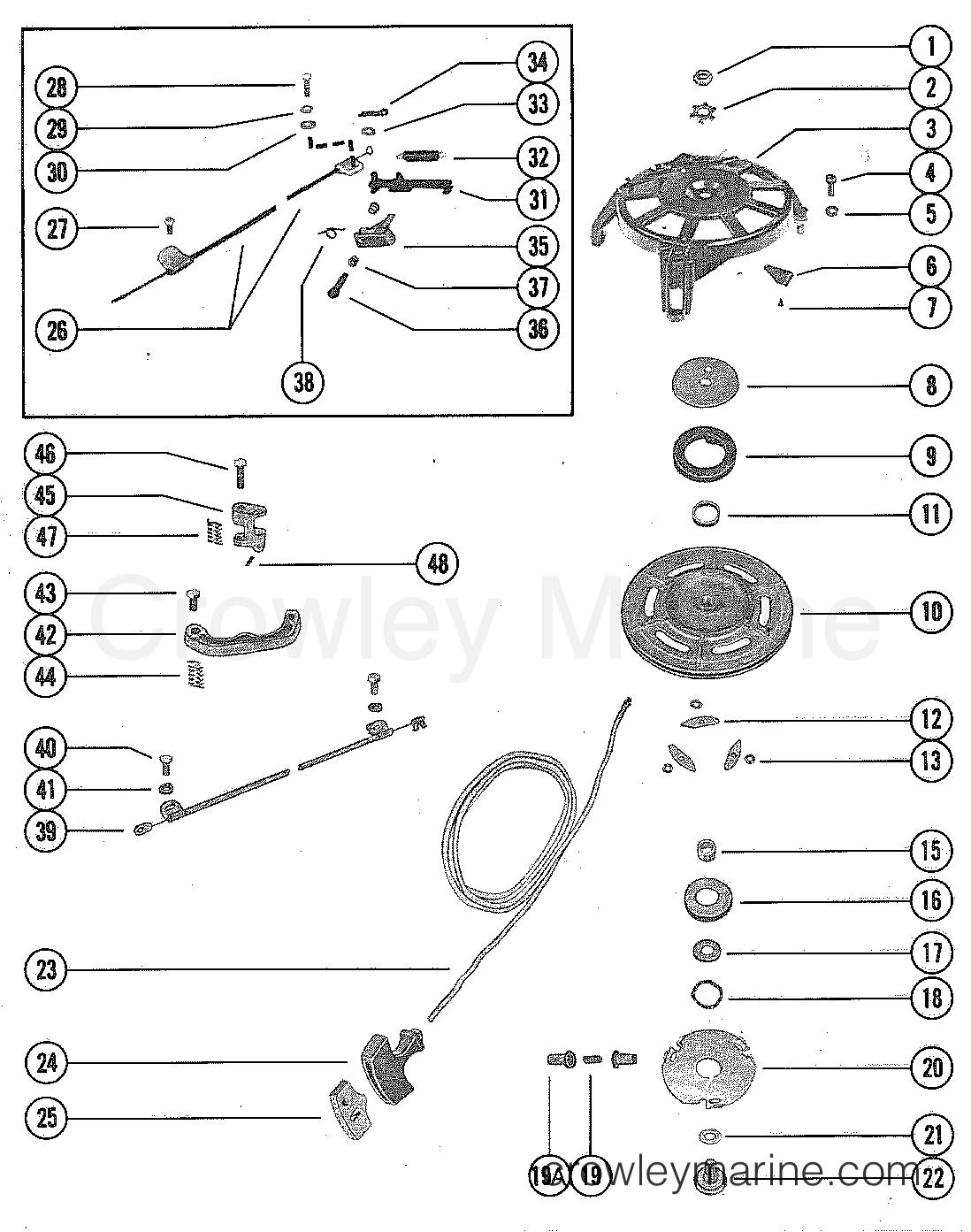 starter housing  manual