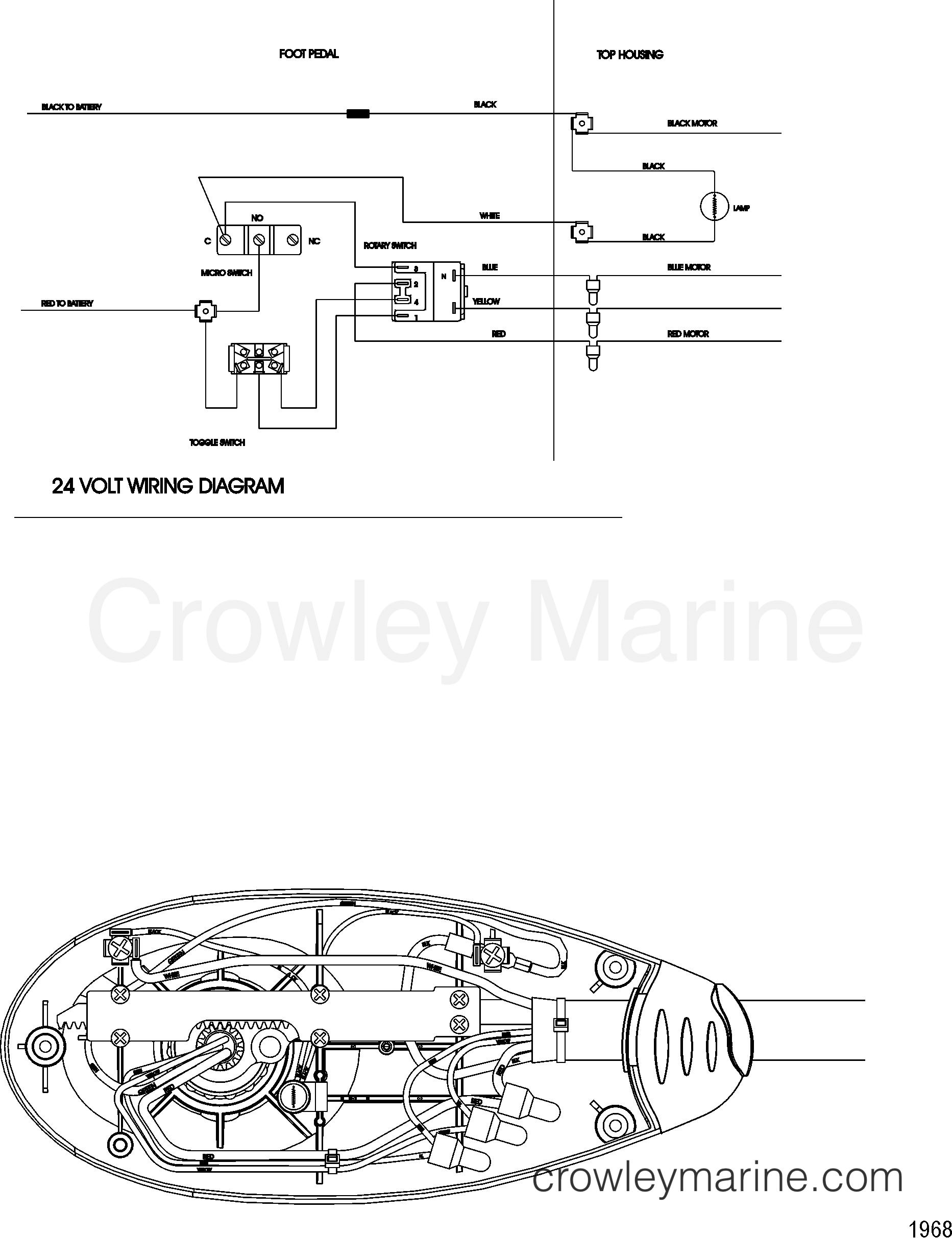 2003 MotorGuide 12V [MOTORGUIDE] - 9BE31EBAF WIRE DIAGRAM(MODEL FW71FB) section
