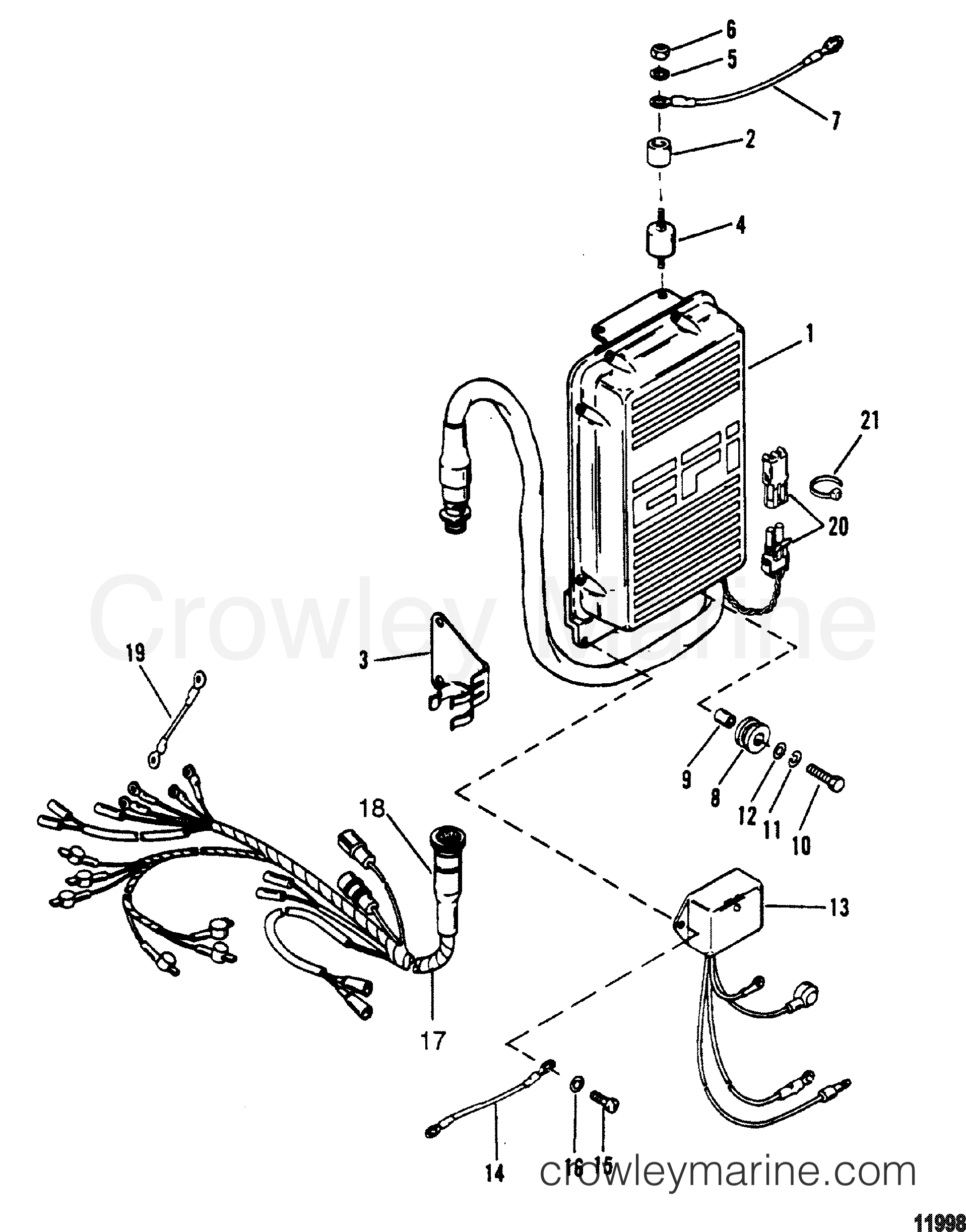 electronic control unit assembly