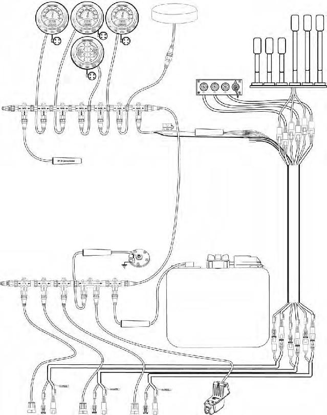 0766026 emm harness  i-command u2122 and icon u2122 gauges