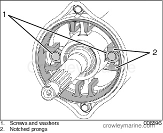 ventilation ring crowley marine Johnson Outboard Wiring Diagram install the ventilation ring by snapping the notched prongs over the washers