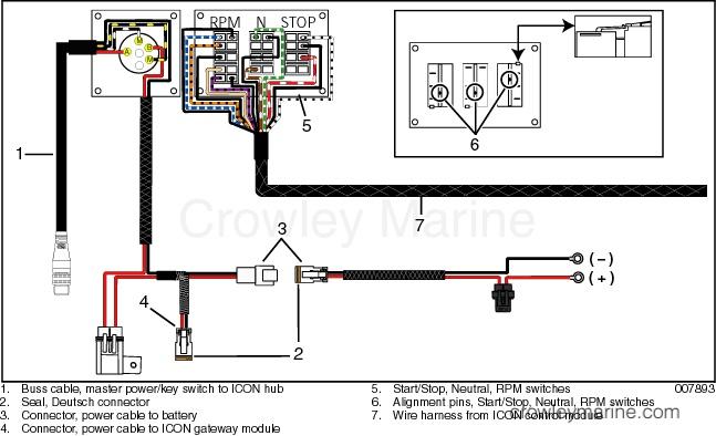 Switch Kits - Crowley Marine on johnson tilt trim diagram, solenoid wiring diagram, evinrude power trim wiring diagram, 115 wire harness diagram, turbo jet 115 wiring diagram, evinrude 140 wiring, 5.7 mercruiser engine wiring diagram, johnson outboard control box diagram, evinrude tilt trim motor problems, evinrude trim tilt repair, evinrude 115 ignition wiring 2005, johnson wiring harness diagram, evinrude trim and tilt schematics, evinrude tilt and trim diagrams, evinrude outboard motor parts diagrams, evinrude trim relay wiring diagram, evinrude sportwin parts, murphy engine wiring diagram, outboard trim solenoid diagram,