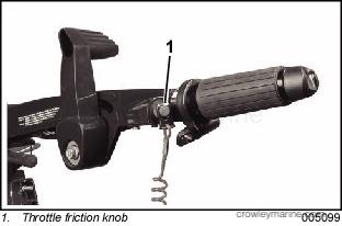 Tiller Handle Kit - Crowley Marine