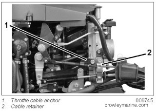 Throttle Cable Replacement Instructions Crowley Marine